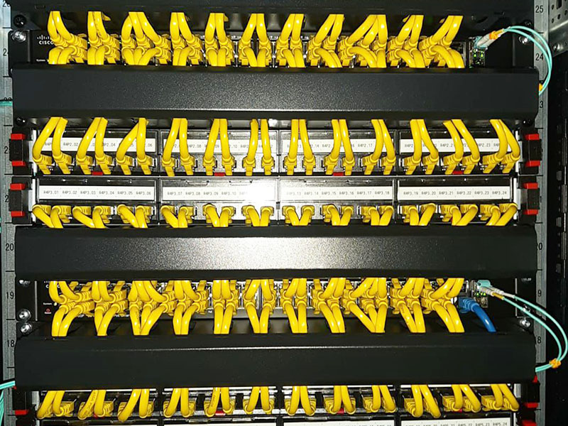 Cablare structurata patch panel NG-Network