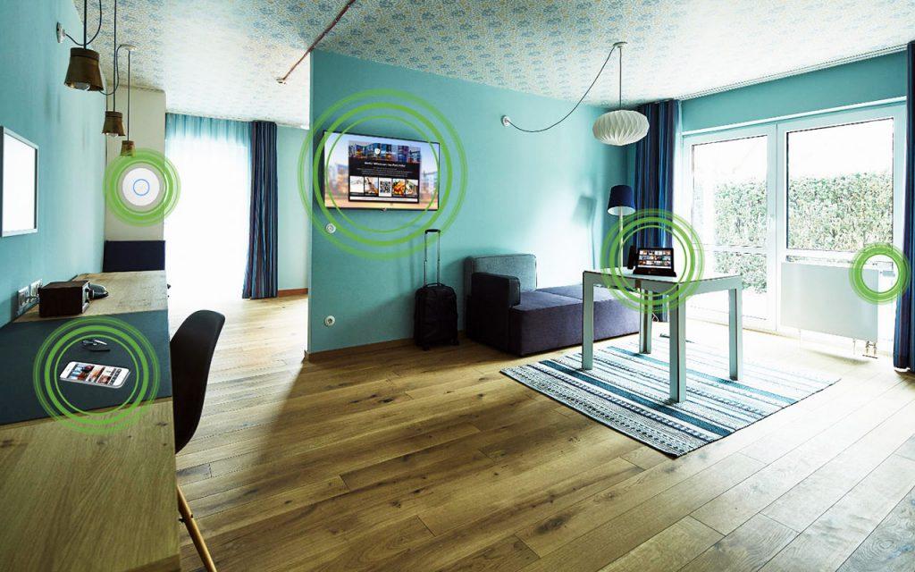 Solutie camere inteligente hotel LeGrand Samsung